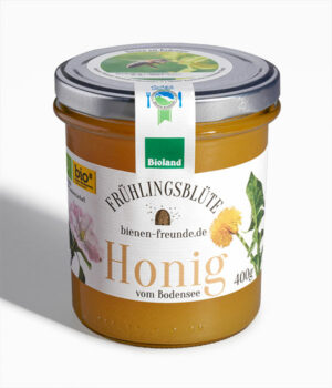 Frühlings-Honig | Frühlingsblüte 400g | bienen-freunde | Bioland