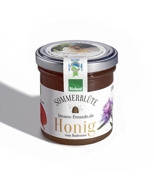 Sommer-Honig | Sommerblüte 200g | bienen-freunde | Bioland