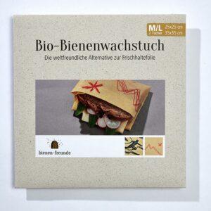 Bienenwachstücher - die alternative Verpackung.